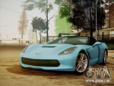 Chevrolet Corvette C7 Stingray 2014 für GTA San Andreas
