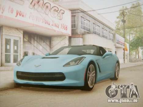 Chevrolet Corvette C7 Stingray 2014 für GTA San Andreas rechten Ansicht