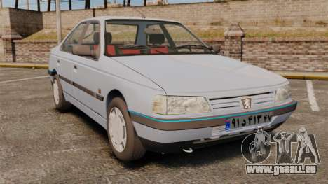 Peugeot 405 GLX Final für GTA 4