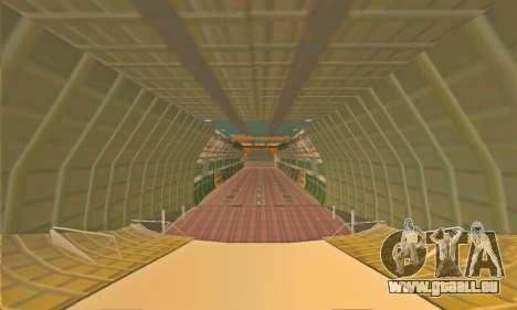 Andromada GTA V pour GTA San Andreas vue de dessus