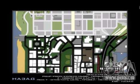 GTA V atlas map pour GTA San Andreas deuxième écran
