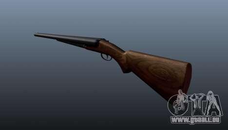 Double Barrel shotgun für GTA 4 Sekunden Bildschirm