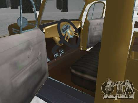 Ford Frieghter 1949 pour GTA San Andreas vue de droite