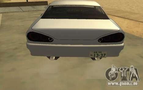 GTA V to SA: Realistic Effects v2.0 für GTA San Andreas achten Screenshot