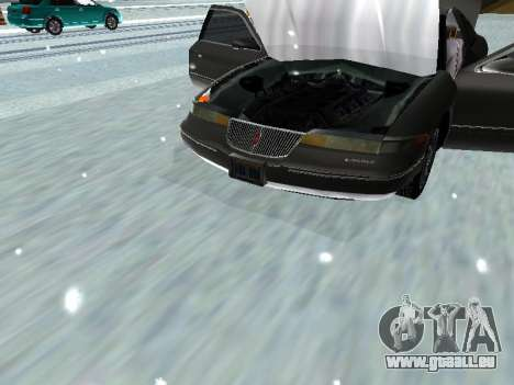 Lincoln Continental Mark VIII 1996 für GTA San Andreas Rückansicht