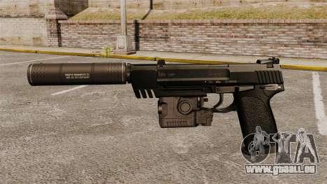 HK USP Pistole für GTA 4 dritte Screenshot