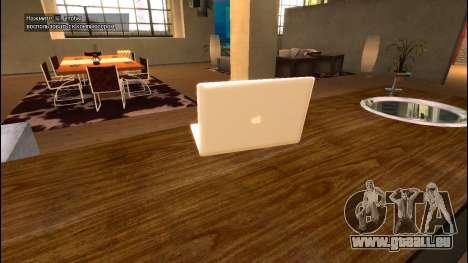MacBook Air pour GTA 4 secondes d'écran