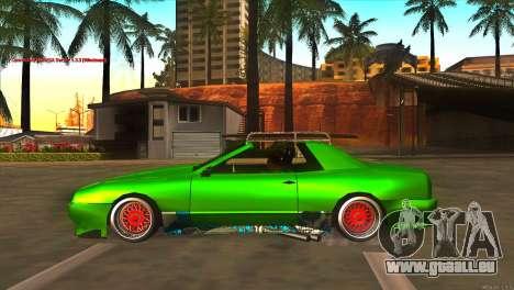Elegy New Year for JDM pour GTA San Andreas laissé vue