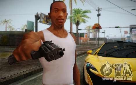 USP45 ohne Schalldämpfer für GTA San Andreas zweiten Screenshot
