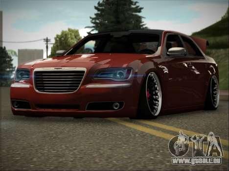 Chrysler 300C Stance pour GTA San Andreas vue arrière
