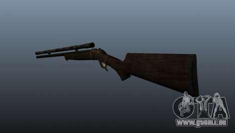 Scharfschützengewehr Remington Rolling-Block für GTA 4 Sekunden Bildschirm
