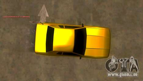New Elegy für GTA San Andreas rechten Ansicht