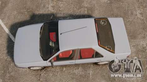 Peugeot 405 GLX Final für GTA 4 rechte Ansicht