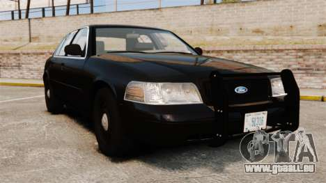 Ford Crown Victoria 2008 FBI pour GTA 4