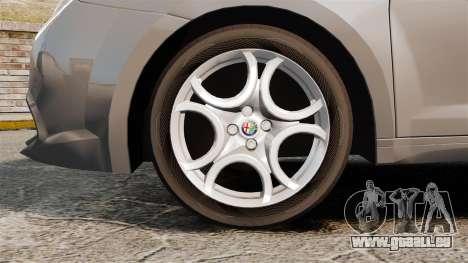 Alfa Romeo MiTo pour GTA 4 Vue arrière