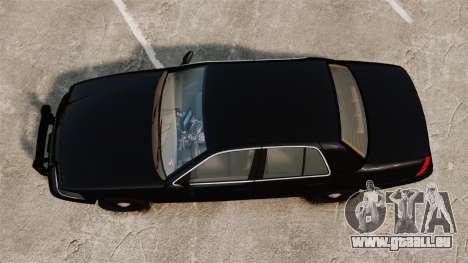Ford Crown Victoria 2008 FBI pour GTA 4 est un droit