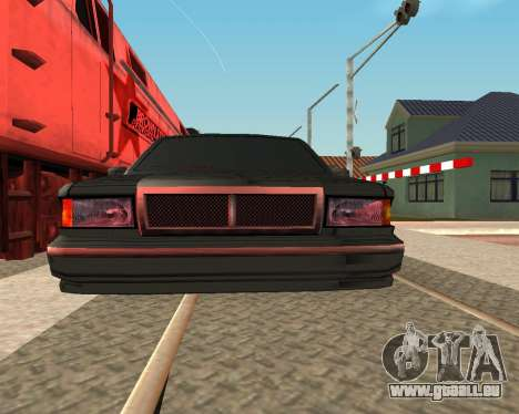 Tonique Premier V2 pour GTA San Andreas sur la vue arrière gauche