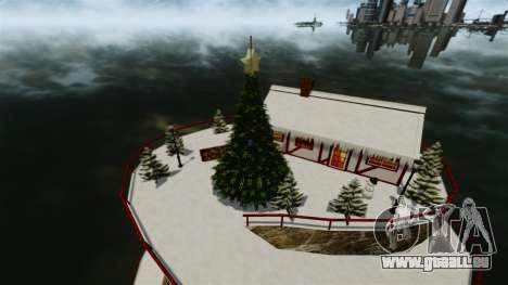 Île Christmas pour GTA 4 troisième écran