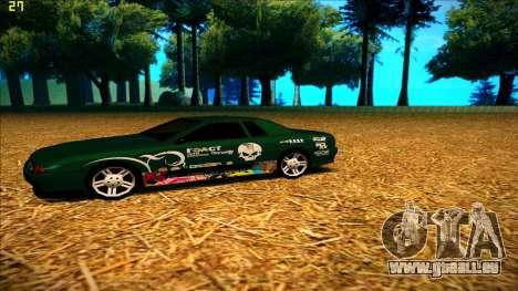 New paintjob for Elegy pour GTA San Andreas deuxième écran