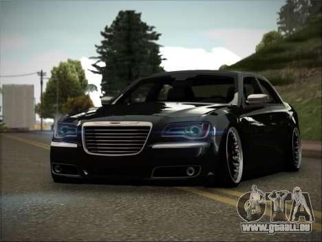 Chrysler 300C Stance pour GTA San Andreas sur la vue arrière gauche