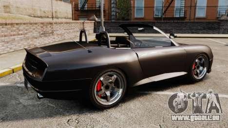 Komet-Cabrio für GTA 4 linke Ansicht