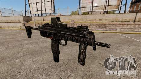 HK MP7 mitraillette v1 pour GTA 4