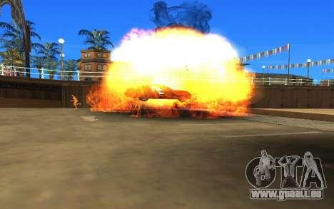 GTA V to SA: Realistic Effects v2.0 für GTA San Andreas fünften Screenshot