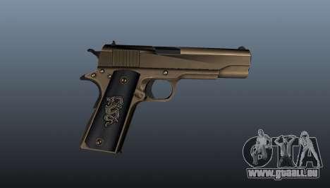 Pistolet M1911 v2 pour GTA 4 troisième écran