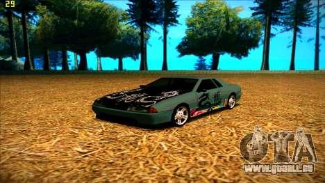 New paintjob for Elegy pour GTA San Andreas troisième écran