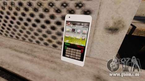 Tastatur Samsung Galaxy S2 für GTA 4