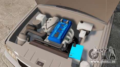 Volga gaz-3110 coupé pour GTA 4 est une vue de l'intérieur