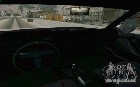 Blista Compact Type R für GTA San Andreas Innenansicht