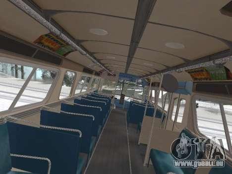 GM TDH-5303 1969 v1.0 pour GTA San Andreas vue intérieure
