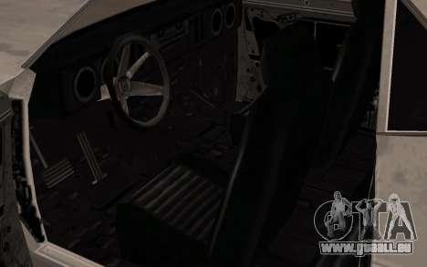 Balle de FlatOut pour GTA San Andreas vue arrière
