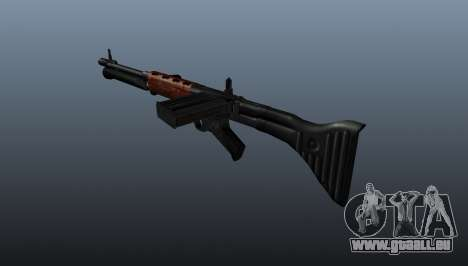 Fusil automatique FG42 pour GTA 4 secondes d'écran