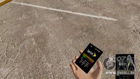 Le thème pour le téléphone Sprint pour GTA 4