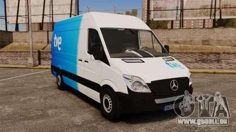 Mercedes-Benz Sprinter Spanish Television Van für GTA 4