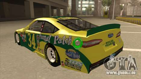 Ford Fusion NASCAR No. 34 Peanut Patch pour GTA San Andreas vue arrière