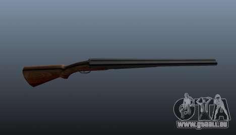 Double Barrel shotgun für GTA 4 dritte Screenshot