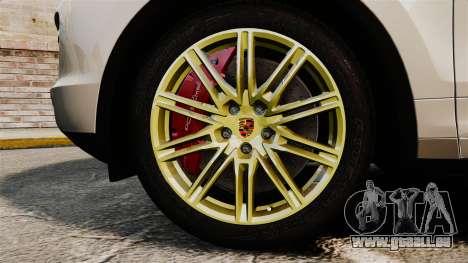 Porsche Cayenne Turbo 2012 v3.5 für GTA 4 Rückansicht