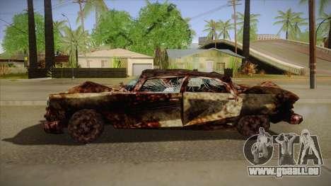 New Glenshit pour GTA San Andreas laissé vue