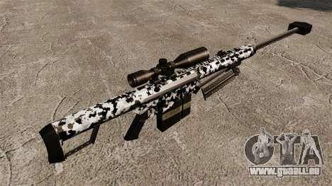 Das Barrett M82 Sniper Gewehr v16 für GTA 4 Sekunden Bildschirm