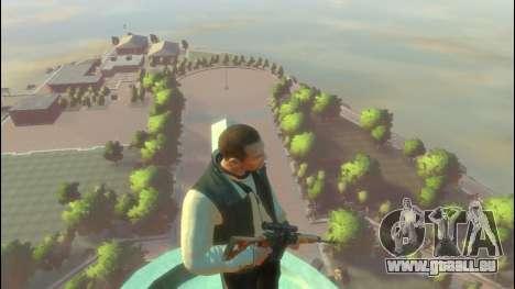 Dragunov Scharfschützengewehr für GTA 4 Sekunden Bildschirm