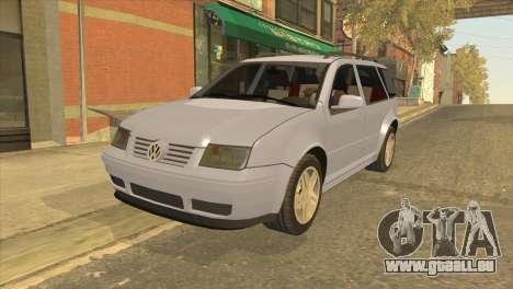Volkswagen Jetta Wagon pour GTA San Andreas