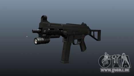UMP45 mitraillette v2 pour GTA 4