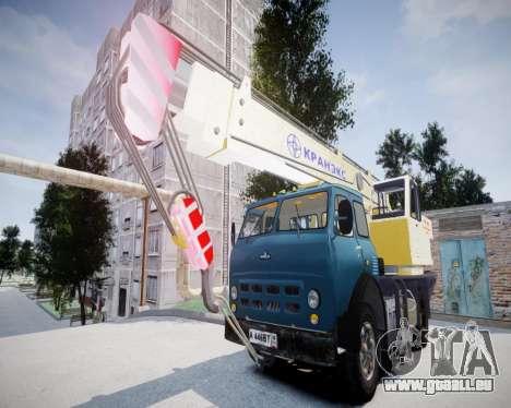 MAZ 500 KS3577-4-4 KRANEKS pour GTA 4 est un droit