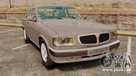 Volga gaz-3110 coupé pour GTA 4