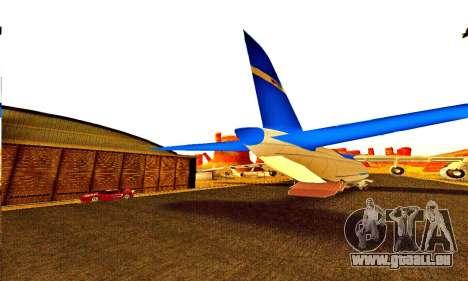 Andromada GTA V pour GTA San Andreas vue intérieure