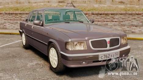Volga gaz-3110 pour GTA 4