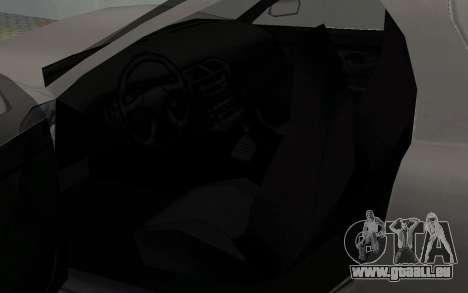 Lignes de conducteur parallèles de la MX2000 pour GTA San Andreas vue arrière